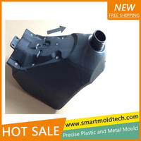Automobile plastics injection moulded products making