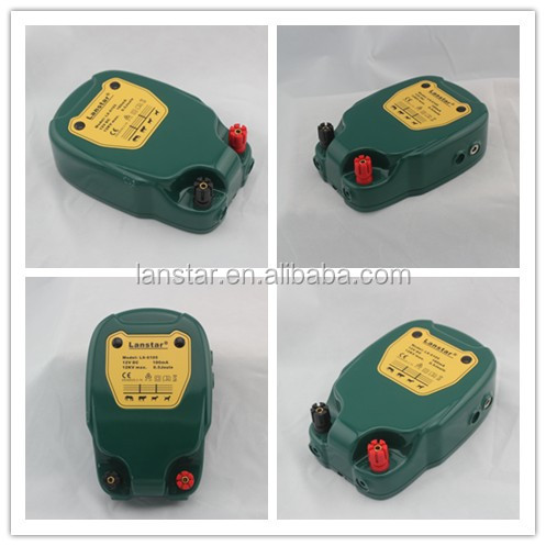 Powers up to 20km Lanstar new electric fence farm fencing livestock energizer