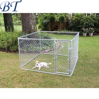 Alibaba China - hot sale Chain link large outdoor metal breeding cage dog