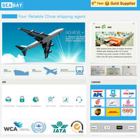 cheap international from china to uk air freight service