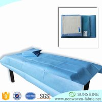 Nonwoven Material Bed Cover Fabric Disposable