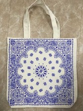 Recycled Organic Cotton Tote bag foldable promotion giveaway lowest price