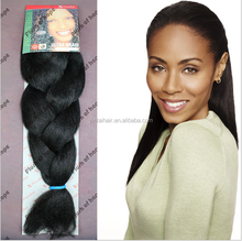 Wholesale Price!!!!100% synthetic Marely Hari Braid/Afro Jumbo Braiding Hair for Black Women