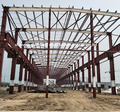 Welded steel Q345 Construction building steel structure