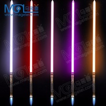OEM RGB color changing flash on clash lightsaber Star the Wars real sound Metal hilt removable strong blade light saber