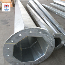 6m 8m 10m 12m galvanized uoctagonal street light poles with specification