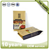 Customized Printing Stand Up Kraft Paper Packaging Bags with Ziplock for Food Packaging