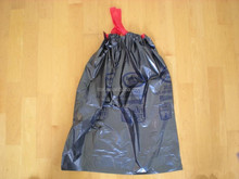 custom printed plastic string bag trash bag