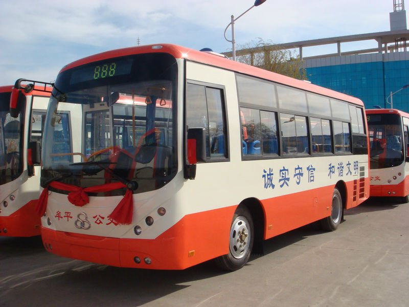 Mini city bus, 30 seater, CNG or LNG