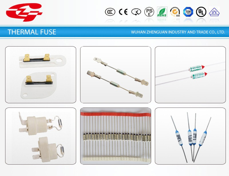 Metal thermal fuse for RoHs compliant