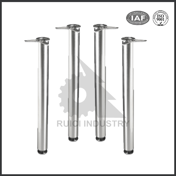 Customized sand cast AlSi7Mg T6 aluminum table leg