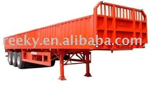 ISO Certificated and High-quality Cargo Semi-trailer with Three-axle & ABS Braking System and High Quality Steel Carriage Body