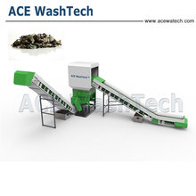 Superior used plastic washing line scrap plastic recycling machine