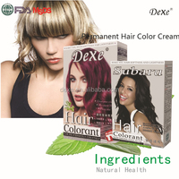 Alibaba best seller cream type color yellow hair coloring cream for professional hair coloring