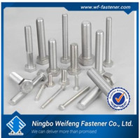 China manufactures suppliers factory bolt nut washer ISO butterfly bolt and nut