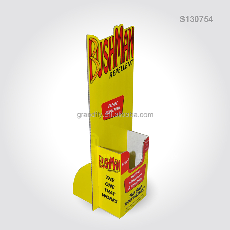 Cardboard PDQ Counter Display Box Table for Insect Repellent