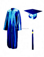 Shiny High School Graduation Cap and Gown