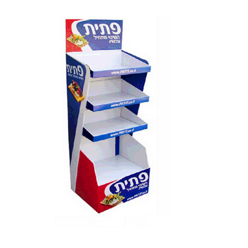 OEM Pp Corrugated Plastic Shelf Rack Display <strong>Stand</strong>
