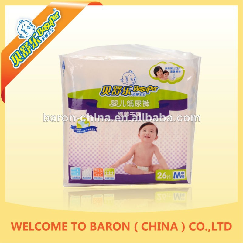 Factory manufacture various baby diapers poland