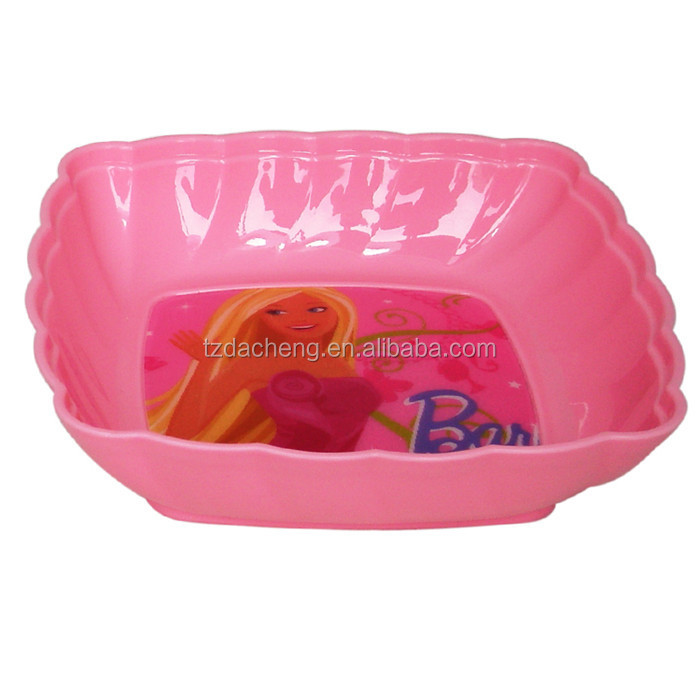 Animation Wholesale 3D custom printed plastic bowl