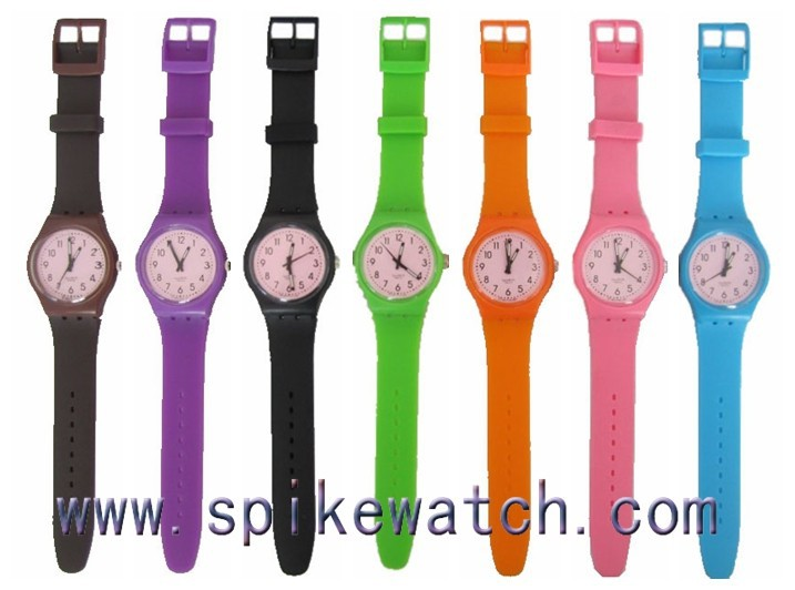 Colorful Wristwatches Different Size Watches Timepieces