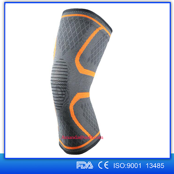2017 New Sport Basketball Protective Knee Sleeve Pads Knee Brace Compression Sleeve
