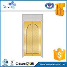 Good firmness home lift door panel elevator parts list