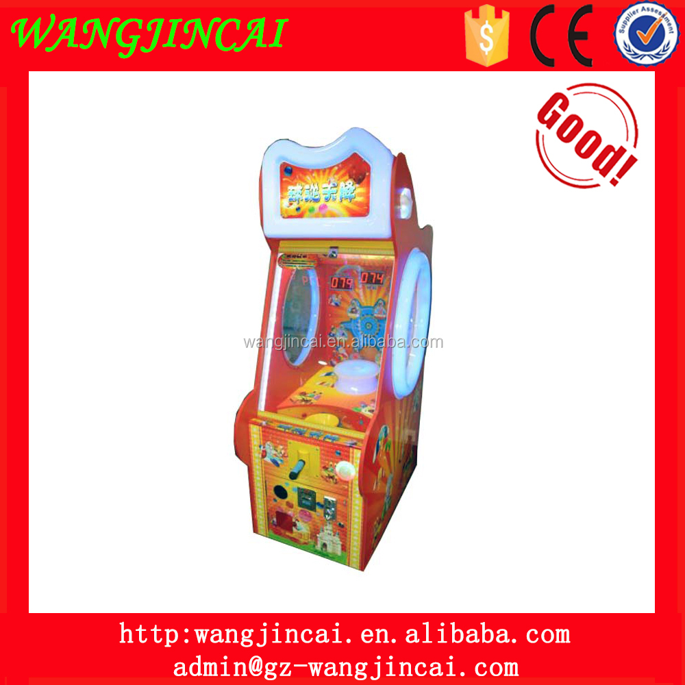 coin operated grabbing balls redemption machines sky drop beads prize sports game machines