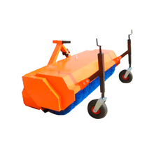 Farm equipment tractor mounted road sweeper with CE