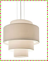 New Drum Shade Cylinder Ceiling Light /Chandelier Pendant