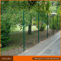 Shengwei fence - Decorative 3d curved welded wire fence mesh panel