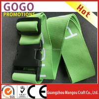 Promotional Custom Made Polyester Luggage Belt Strap with Detach Buckle