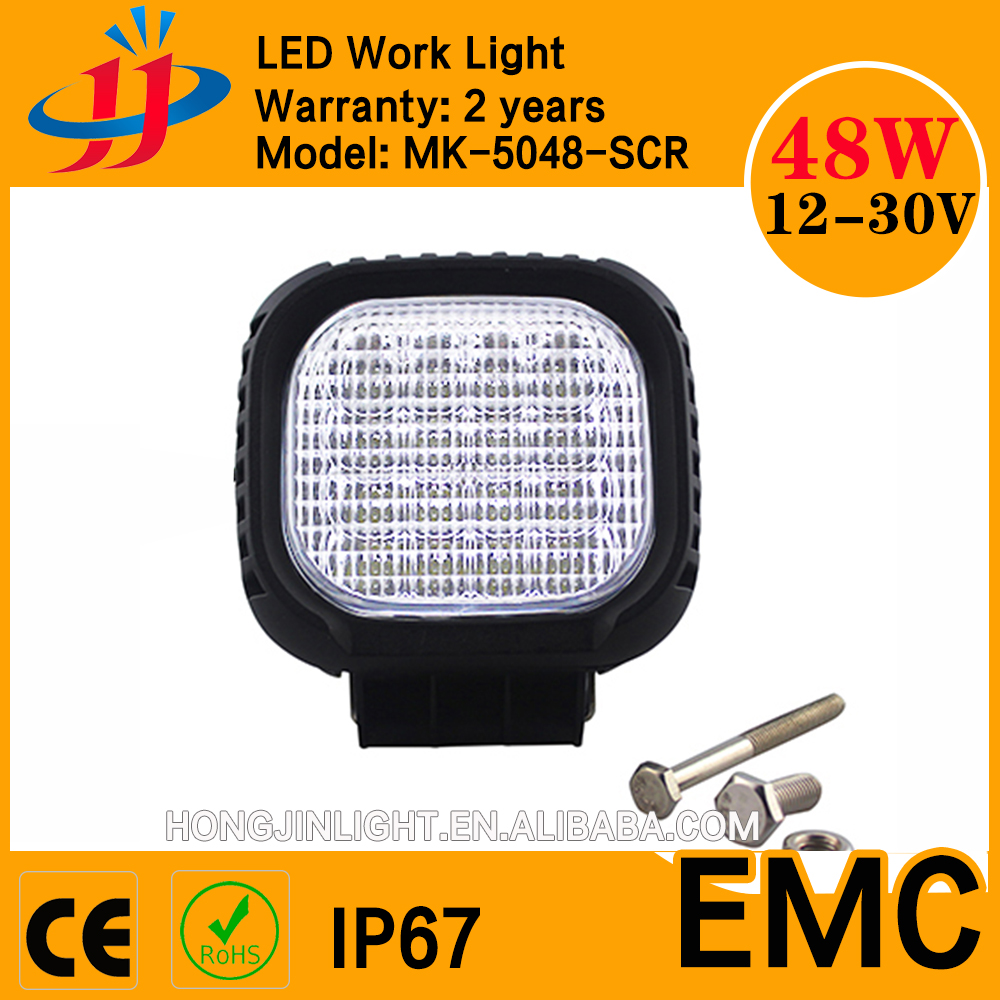 Wholesale factory direct 9-32V 48W Flood Crees LED work light with 3450lm