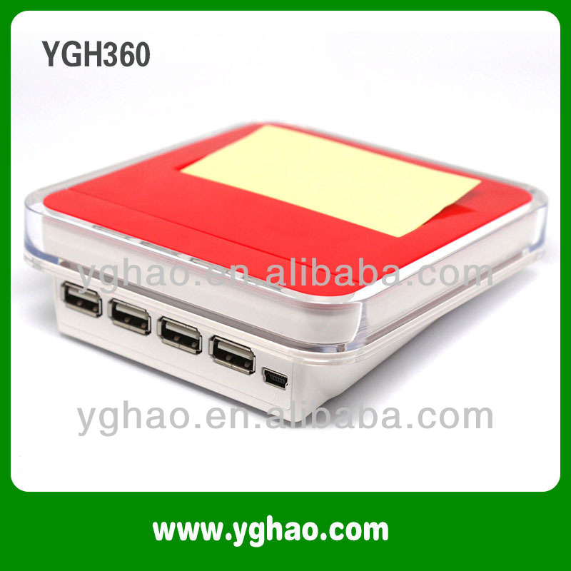 business for sale, YGH360A USB Hubs sticky note pad holder