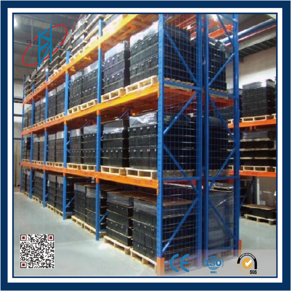Warehouse Heavy Duty Metal Pallet Shelving Capacity Racking System