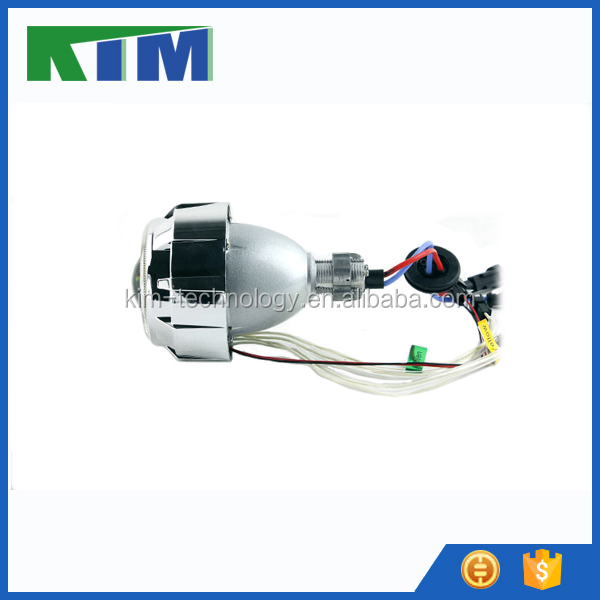 Motorcycle headlight hid bi xenon projector lens light with 2.5 inch