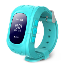 2017 New Children waterproof smart baby watch phone Q50 Kids Tracking GPS watch