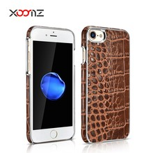 XOOMZ Crocodile Embossed Genuine Leather Crocodile Embossed Case for iphone 7