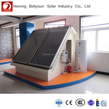 2015 China manufacture split pressure flat plate solar thermal collector price