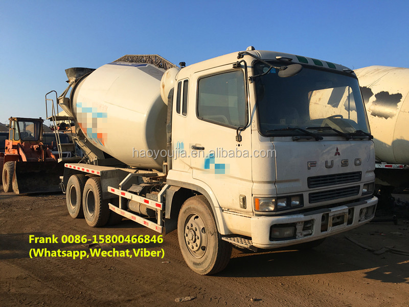 Mitsubishi fuso concrete mixer trucks, fuso cement mixer trucks for sale