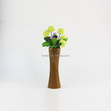 Wholesale different shape purple ceramic flower vases