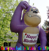 large Advertising inflatable Grape Ape balloon