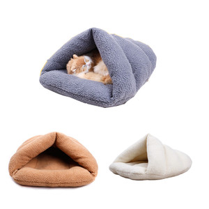 slipper pet dog fur sleeping bag