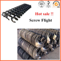 stainless steel helix feeder screw blade