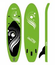 New Design Customized OEM ODM Durable Big Plastic Inflatable SUP Stand up Paddle Board With Accessories Bag