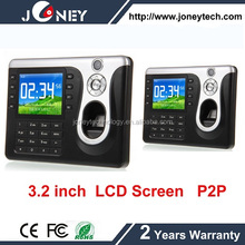 High quality biometric fingerprint reader usb time clock machine with software