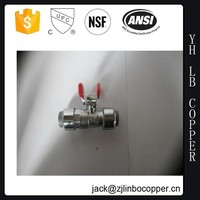 Stainless Steel Tee Ball Valve Locking