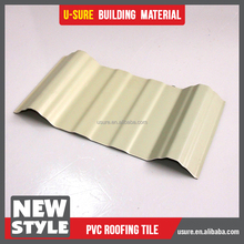 hot new products 2017 asa plastic material corrugated plastic roof panels