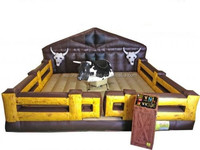 2015 New Finished Inflatable mechanical bull for sale