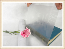 Clear Book Covering Self Adhesive Cover Different Sizes Sticky back Plastic